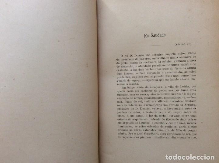 Libros antiguos: Patria portuguesa. Por Júlio Dantas Ilustraciones de Alberto de Sousa. 2-ª edicion, 1915. Muy raro. - Foto 10 - 244877115