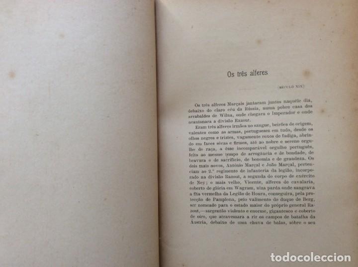 Libros antiguos: Patria portuguesa. Por Júlio Dantas Ilustraciones de Alberto de Sousa. 2-ª edicion, 1915. Muy raro. - Foto 13 - 244877115