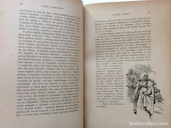 Libros antiguos: Patria portuguesa. Por Júlio Dantas Ilustraciones de Alberto de Sousa. 2-ª edicion, 1915. Muy raro. - Foto 14 - 244877115