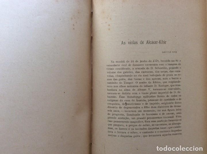Libros antiguos: Patria portuguesa. Por Júlio Dantas Ilustraciones de Alberto de Sousa. 2-ª edicion, 1915. Muy raro. - Foto 16 - 244877115