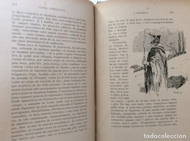 Libros antiguos: Patria portuguesa. Por Júlio Dantas Ilustraciones de Alberto de Sousa. 2-ª edicion, 1915. Muy raro. - Foto 19 - 244877115