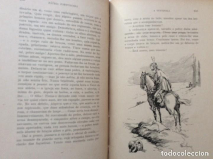 Libros antiguos: Patria portuguesa. Por Júlio Dantas Ilustraciones de Alberto de Sousa. 2-ª edicion, 1915. Muy raro. - Foto 20 - 244877115