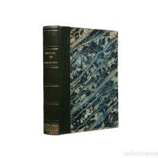 Libros antiguos: MANUAL DE MITOLOGÍA. COMPENDIO DE LA HISTORIA DE LOS DIOSES // P. DE LA ESCOSURA // ((1845)). Lote 245973105