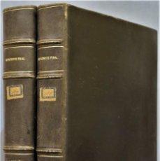 Livros antigos: 1929.- LA ESPAÑA DEL CID. MENENDEZ PIDAL. 2 TOMOS. Lote 246575615