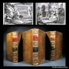Livres anciens: AÑO 1759 HISTORIA DE ROMA EJEMPLARES DEL BARÓN DE DUNSTANVILLE DÉCADAS DE TITO LIVIO 3V. Lote 246598865