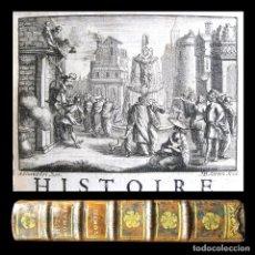 Libros antiguos: AÑO 1729 CLEOPATRA CÉSAR POMPEYO HISTORIA ROMANA 5 EJEMPLARES EN EL MUNDO GRABADO ANTIGUA ROMA. Lote 246792620