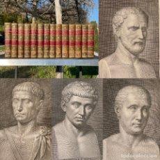 Libros antiguos: 1797 - CICERON - OPERA - EXTRAORDINARIA EDICIÓN MADRILEÑA DE LAS OBRAS DE CICERON - HISTORIA ROMANA. Lote 247604975