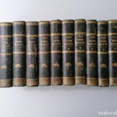 Libri antichi: HISTORIA GENERAL DE ESPAÑA POR DON MODESTO LAFUENTE, EDICION ECONOMICA, MADRID 1861, 12 TOMOS DE 15. Lote 247728190
