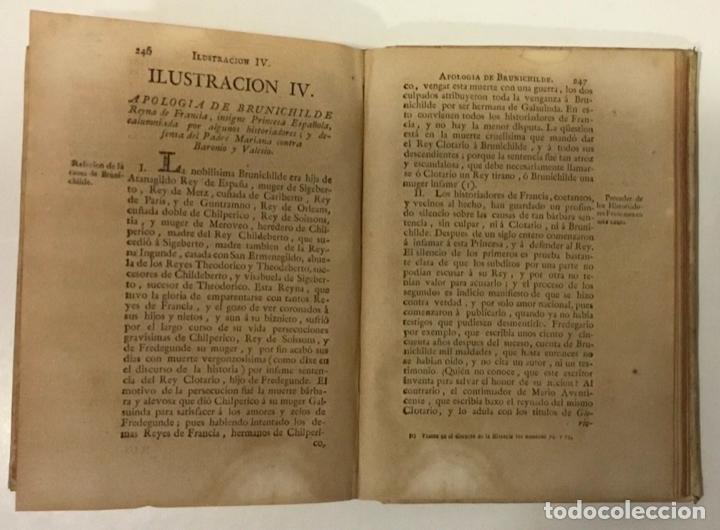 Libros antiguos: HISTORIA CRITICA DE ESPAÑA Y DE LA CULTURA ESPAÑOLA. TOMO X. España Goda. Libro II. MASDEU, Juan F. - Foto 4 - 248569075