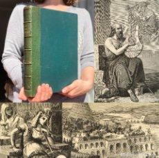Livros antigos: AÑO 1879 - INDIA - EGIPTO - CHINA - HISTORIA - GRABADOS. Lote 251209185