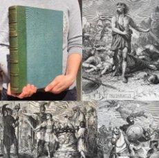 Livros antigos: AÑO 1879 - VIRIATO - NUMANCIA - SEGUNDA GUERRA PUNICA - ANIBAL - HISTORIA DE ESPAÑA. Lote 251212400