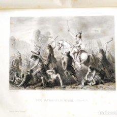 Libros antiguos: 1881 - HISTORIA UNIVERSAL - CÉSAR CANTÚ - TOMO II - MÚLTIPLES GRABADOS. Lote 239864725