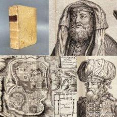 Livros antigos: 1722 APPARATUS BIBLICUS - PERGAMINO - MAPAS - GRABADOS - HISTORIA DE LOS JUDIOS - BIBLIA. Lote 251382465
