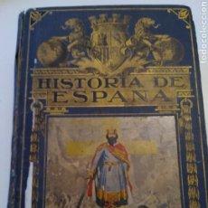 Livros antigos: ANTIGUO LIBRO HISTORIA DE ESPAÑA. AÑO 1936. AGUSTÍN BLANQUEZ FRAILE. BIBLIOTECA HISPANIA.. Lote 251551000