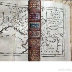 Livros antigos: AÑO 1774: HISTORIA DE EGIPCIOS, CARTAGINESES, GRIEGOS, PERSAS. CON MAPA DESPLEGABLE.. Lote 251620265