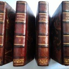 Livros antigos: HISTORIA GENERAL DE ESPAÑA. PADRE MARIANA, 1848 -1851. TOMOS II, III, IV, V.. Lote 251894765