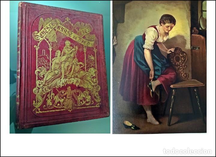 AÑO 1876: PRECIOSO LIBRO ANTIGUO DEL SIGLO XIX. BELLAS ILUSTRACIONES. (Libros antiguos (hasta 1936), raros y curiosos - Historia Antigua)