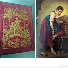 Libros antiguos: AÑO 1876: PRECIOSO LIBRO ANTIGUO DEL SIGLO XIX. BELLAS ILUSTRACIONES.. Lote 252835135