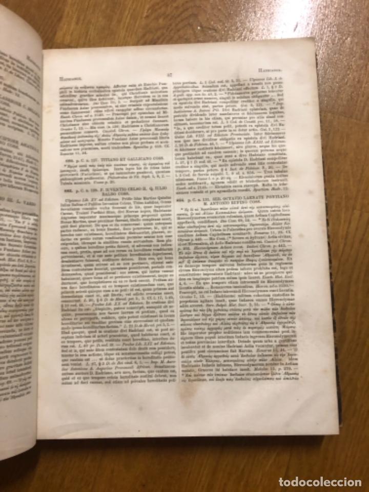Libros antiguos: Corpus legum Haenel 1857 - Foto 3 - 253850445