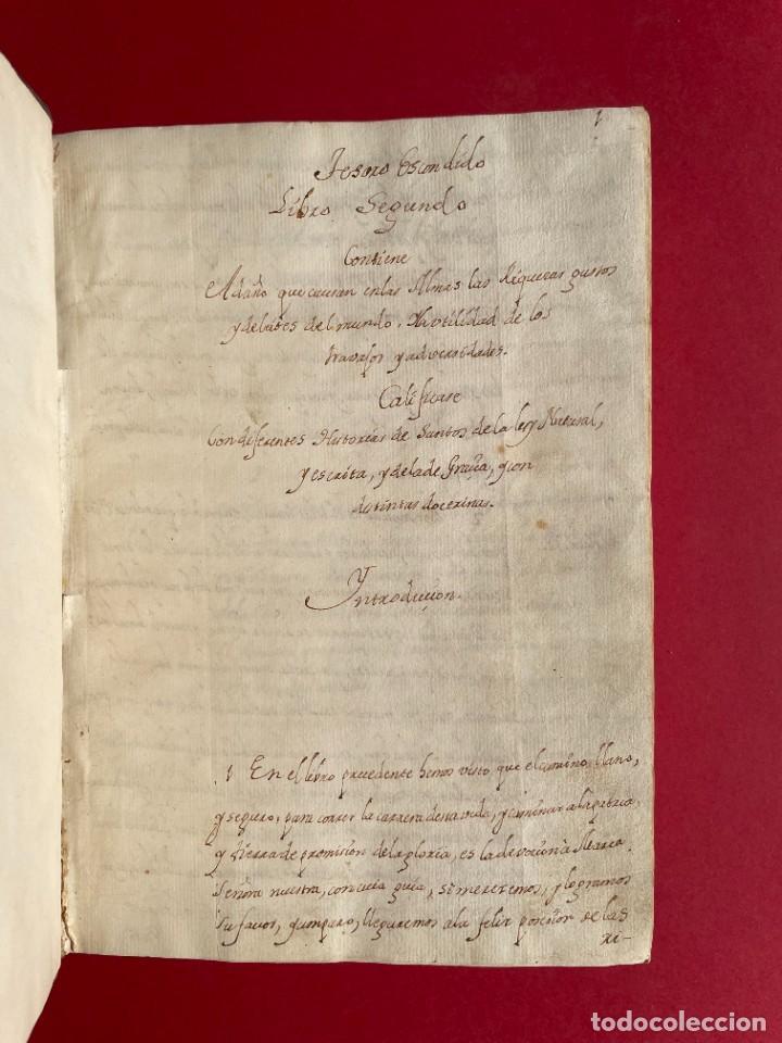 Libros antiguos: SIGLO XVIII - TESOROS ESCONDIDO, VIDA DE LOS PATRIARCAS JUDIOS - LIBRO MANUSCRITO - Foto 2 - 254344345