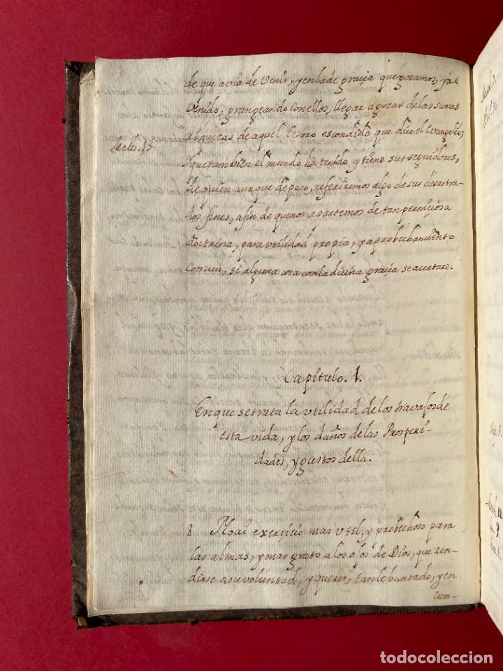 Libros antiguos: SIGLO XVIII - TESOROS ESCONDIDO, VIDA DE LOS PATRIARCAS JUDIOS - LIBRO MANUSCRITO - Foto 3 - 254344345