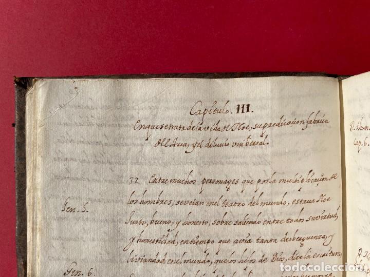 Libros antiguos: SIGLO XVIII - TESOROS ESCONDIDO, VIDA DE LOS PATRIARCAS JUDIOS - LIBRO MANUSCRITO - Foto 5 - 254344345