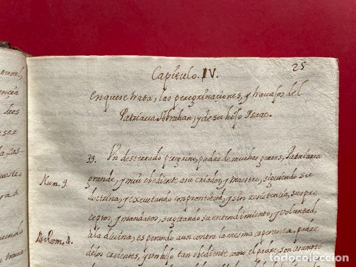 Libros antiguos: SIGLO XVIII - TESOROS ESCONDIDO, VIDA DE LOS PATRIARCAS JUDIOS - LIBRO MANUSCRITO - Foto 7 - 254344345