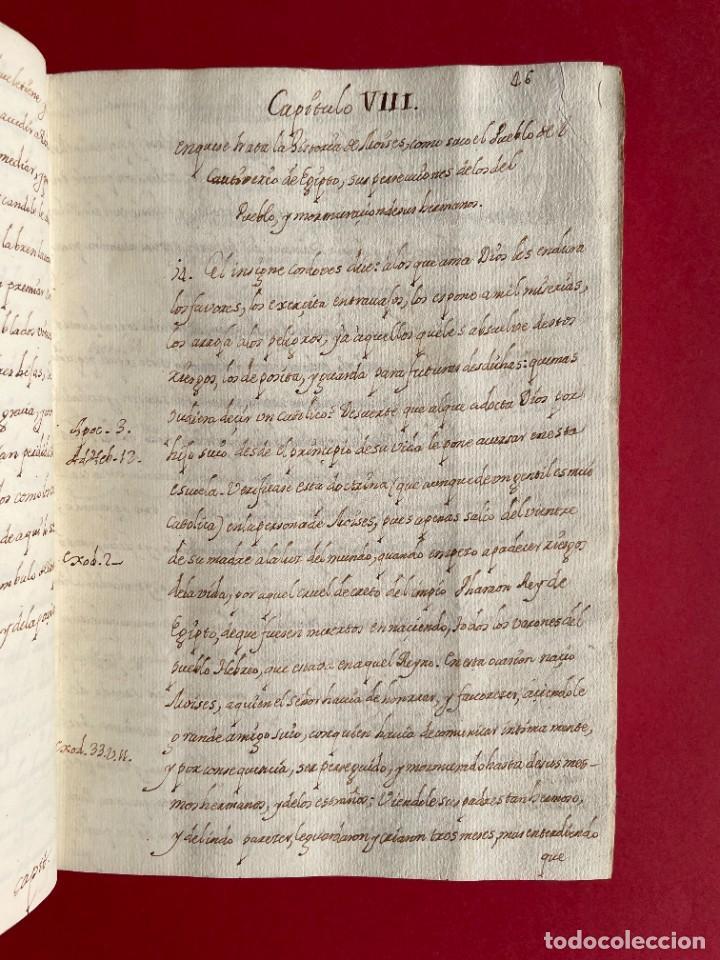 Libros antiguos: SIGLO XVIII - TESOROS ESCONDIDO, VIDA DE LOS PATRIARCAS JUDIOS - LIBRO MANUSCRITO - Foto 13 - 254344345