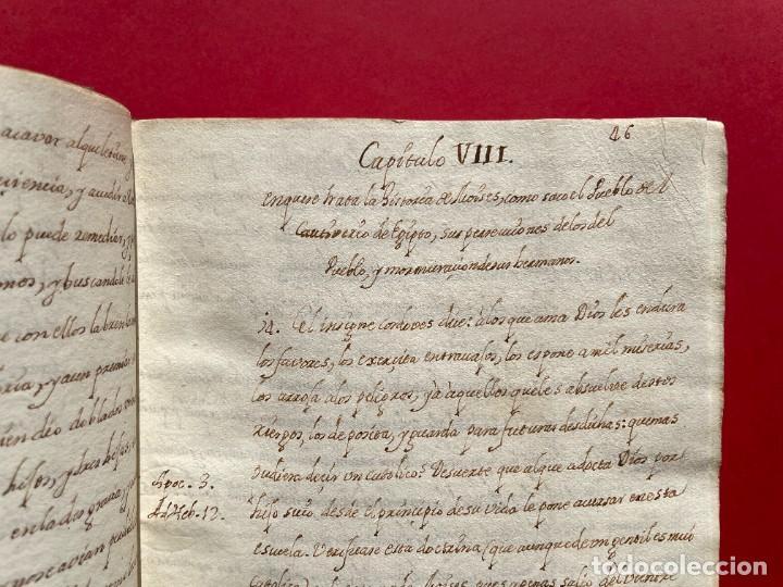 Libros antiguos: SIGLO XVIII - TESOROS ESCONDIDO, VIDA DE LOS PATRIARCAS JUDIOS - LIBRO MANUSCRITO - Foto 14 - 254344345