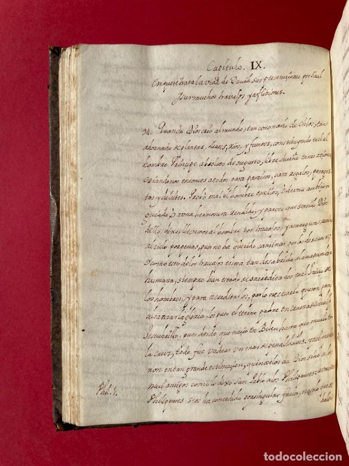 Libros antiguos: SIGLO XVIII - TESOROS ESCONDIDO, VIDA DE LOS PATRIARCAS JUDIOS - LIBRO MANUSCRITO - Foto 15 - 254344345