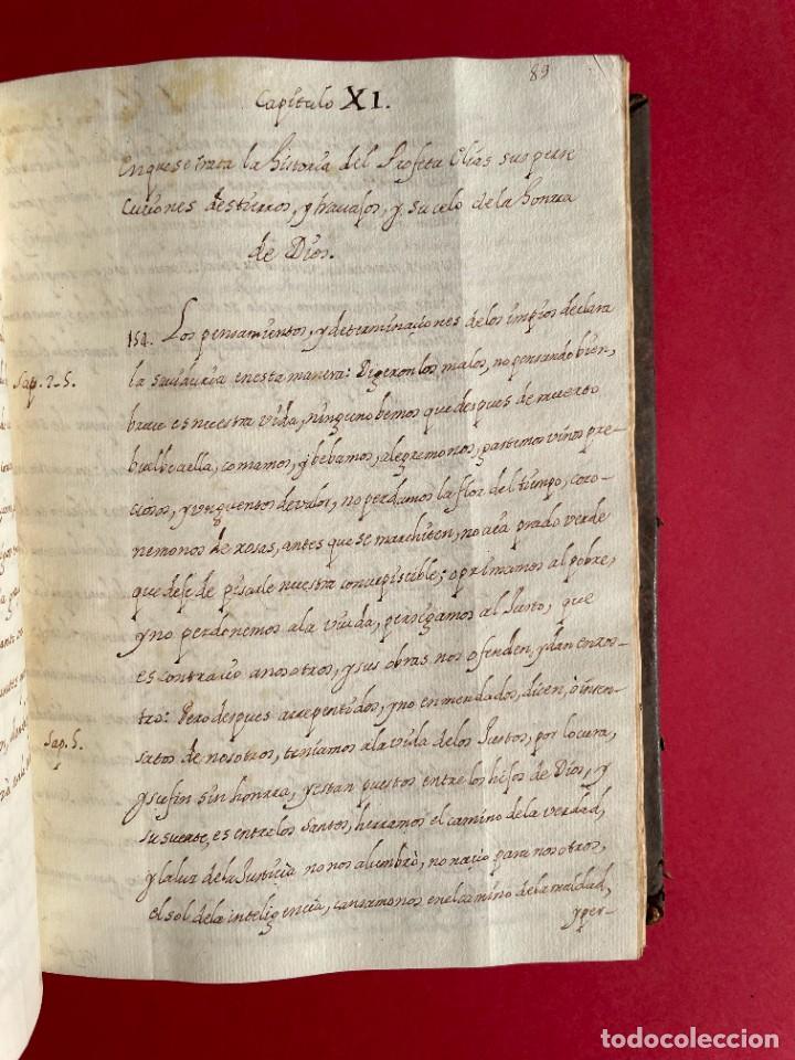 Libros antiguos: SIGLO XVIII - TESOROS ESCONDIDO, VIDA DE LOS PATRIARCAS JUDIOS - LIBRO MANUSCRITO - Foto 17 - 254344345