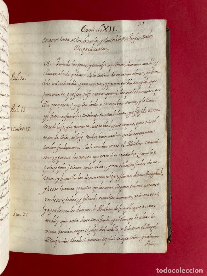 Libros antiguos: SIGLO XVIII - TESOROS ESCONDIDO, VIDA DE LOS PATRIARCAS JUDIOS - LIBRO MANUSCRITO - Foto 19 - 254344345