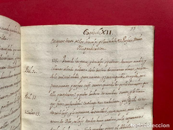 Libros antiguos: SIGLO XVIII - TESOROS ESCONDIDO, VIDA DE LOS PATRIARCAS JUDIOS - LIBRO MANUSCRITO - Foto 20 - 254344345