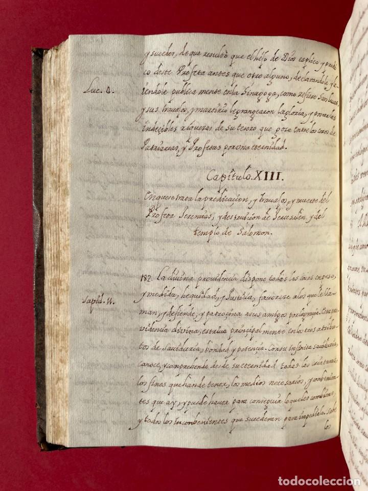 Libros antiguos: SIGLO XVIII - TESOROS ESCONDIDO, VIDA DE LOS PATRIARCAS JUDIOS - LIBRO MANUSCRITO - Foto 21 - 254344345