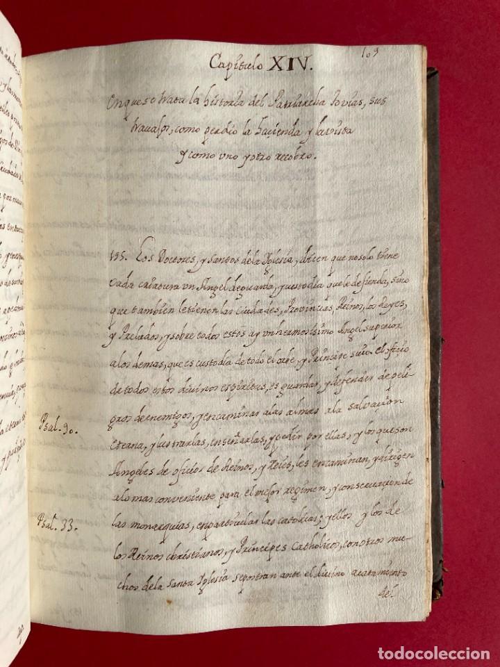 Libros antiguos: SIGLO XVIII - TESOROS ESCONDIDO, VIDA DE LOS PATRIARCAS JUDIOS - LIBRO MANUSCRITO - Foto 23 - 254344345