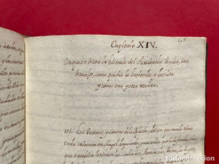 Libros antiguos: SIGLO XVIII - TESOROS ESCONDIDO, VIDA DE LOS PATRIARCAS JUDIOS - LIBRO MANUSCRITO - Foto 24 - 254344345