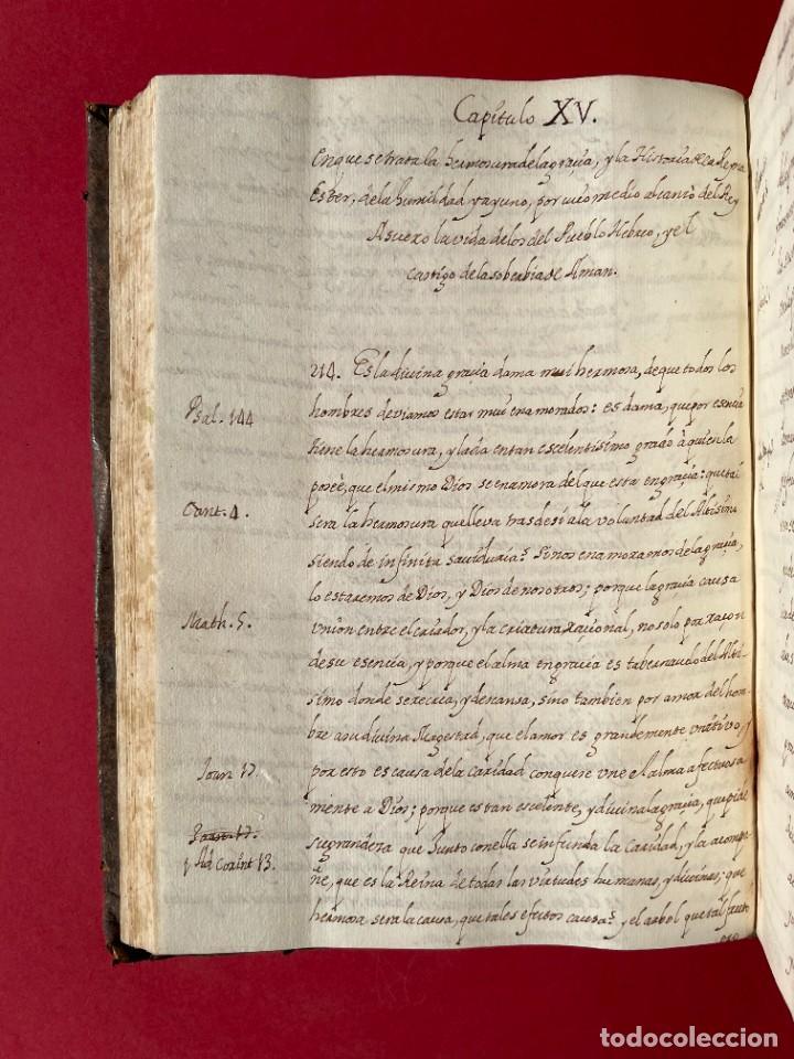 Libros antiguos: SIGLO XVIII - TESOROS ESCONDIDO, VIDA DE LOS PATRIARCAS JUDIOS - LIBRO MANUSCRITO - Foto 25 - 254344345