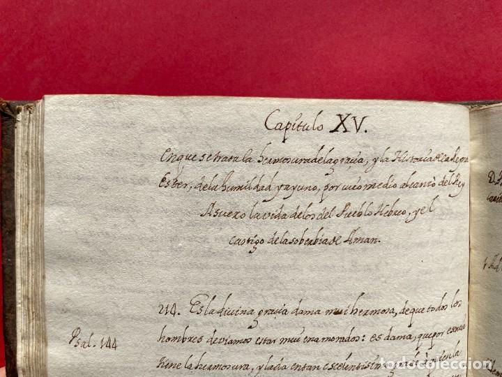 Libros antiguos: SIGLO XVIII - TESOROS ESCONDIDO, VIDA DE LOS PATRIARCAS JUDIOS - LIBRO MANUSCRITO - Foto 26 - 254344345