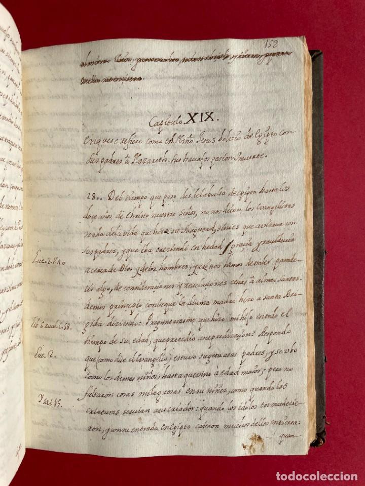 Libros antiguos: SIGLO XVIII - TESOROS ESCONDIDO, VIDA DE LOS PATRIARCAS JUDIOS - LIBRO MANUSCRITO - Foto 27 - 254344345