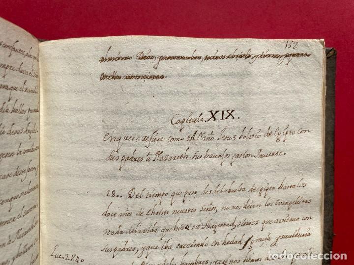 Libros antiguos: SIGLO XVIII - TESOROS ESCONDIDO, VIDA DE LOS PATRIARCAS JUDIOS - LIBRO MANUSCRITO - Foto 28 - 254344345