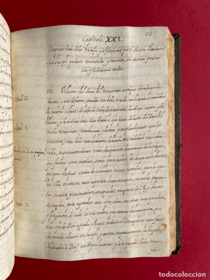 Libros antiguos: SIGLO XVIII - TESOROS ESCONDIDO, VIDA DE LOS PATRIARCAS JUDIOS - LIBRO MANUSCRITO - Foto 29 - 254344345