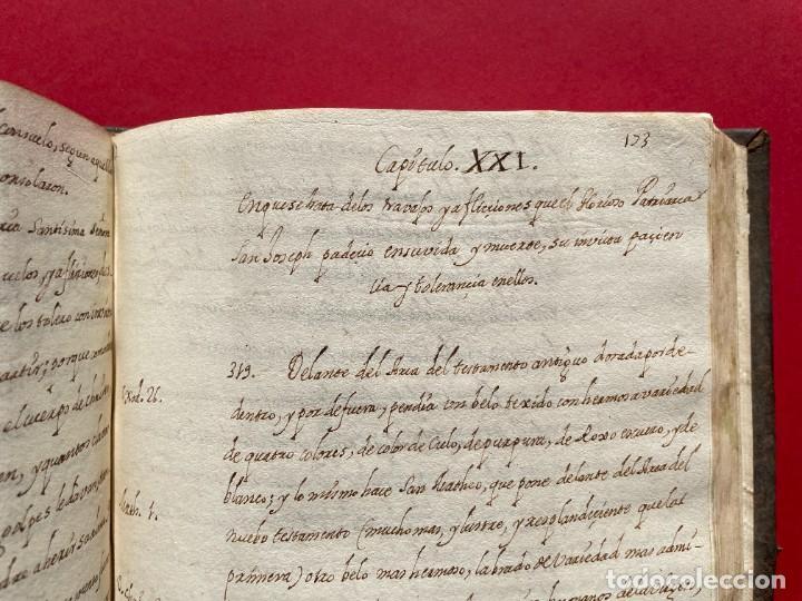 Libros antiguos: SIGLO XVIII - TESOROS ESCONDIDO, VIDA DE LOS PATRIARCAS JUDIOS - LIBRO MANUSCRITO - Foto 30 - 254344345