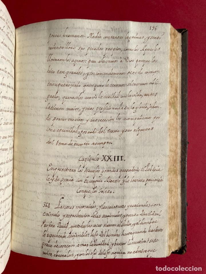 Libros antiguos: SIGLO XVIII - TESOROS ESCONDIDO, VIDA DE LOS PATRIARCAS JUDIOS - LIBRO MANUSCRITO - Foto 31 - 254344345
