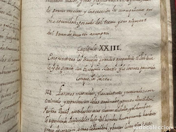 Libros antiguos: SIGLO XVIII - TESOROS ESCONDIDO, VIDA DE LOS PATRIARCAS JUDIOS - LIBRO MANUSCRITO - Foto 32 - 254344345