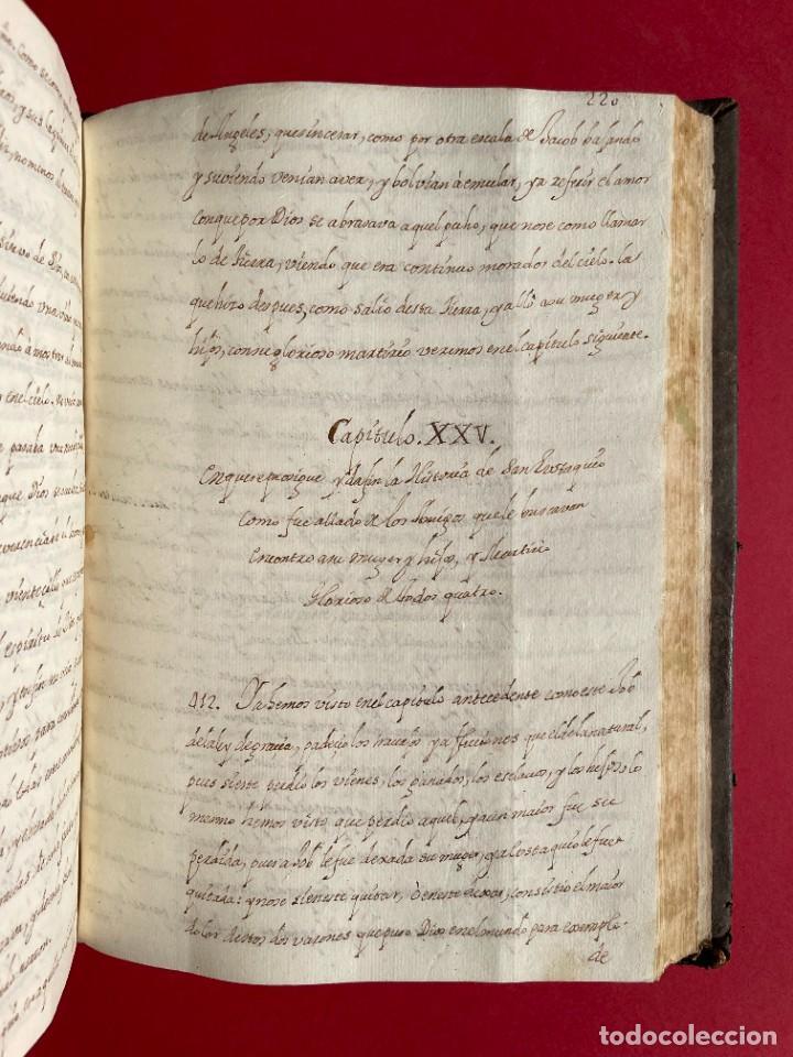 Libros antiguos: SIGLO XVIII - TESOROS ESCONDIDO, VIDA DE LOS PATRIARCAS JUDIOS - LIBRO MANUSCRITO - Foto 33 - 254344345