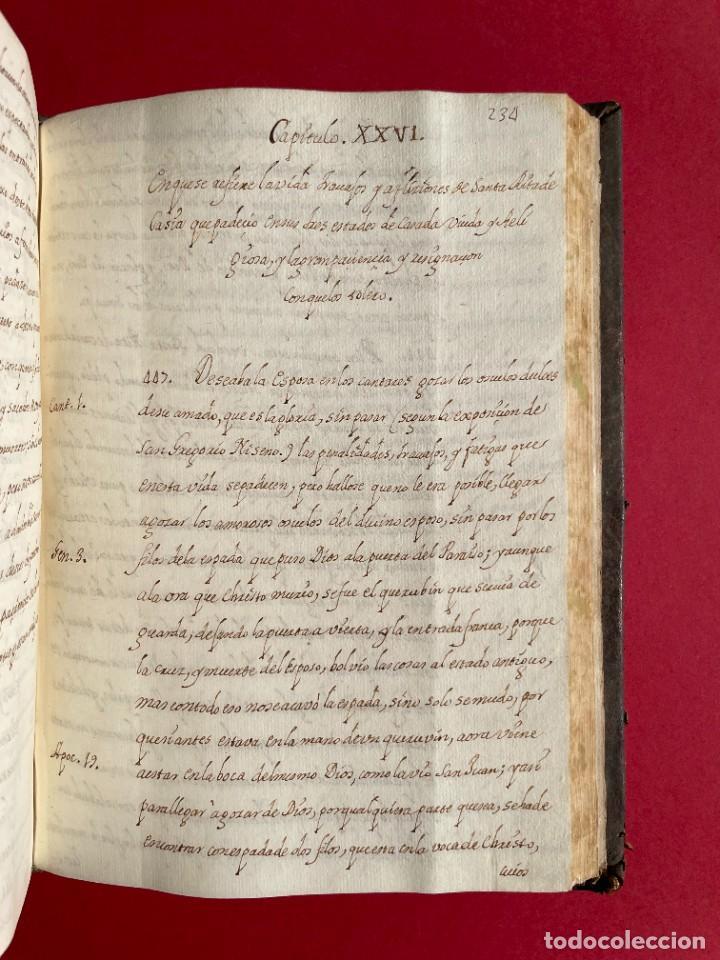 Libros antiguos: SIGLO XVIII - TESOROS ESCONDIDO, VIDA DE LOS PATRIARCAS JUDIOS - LIBRO MANUSCRITO - Foto 35 - 254344345