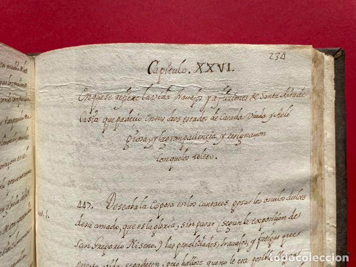 Libros antiguos: SIGLO XVIII - TESOROS ESCONDIDO, VIDA DE LOS PATRIARCAS JUDIOS - LIBRO MANUSCRITO - Foto 36 - 254344345