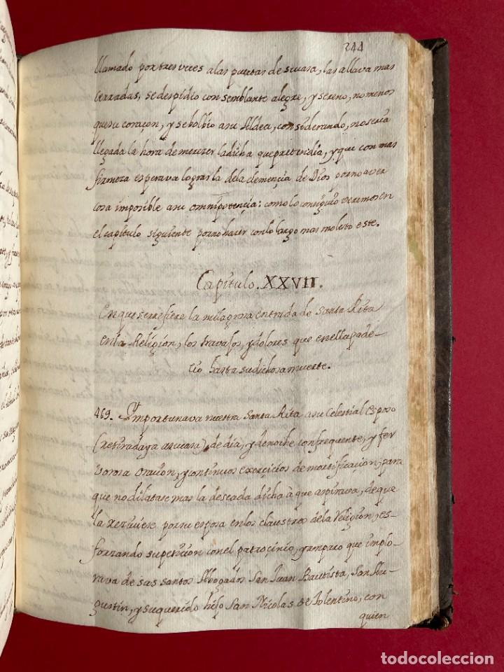 Libros antiguos: SIGLO XVIII - TESOROS ESCONDIDO, VIDA DE LOS PATRIARCAS JUDIOS - LIBRO MANUSCRITO - Foto 37 - 254344345