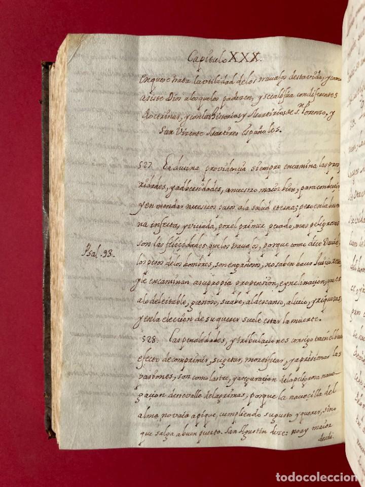Libros antiguos: SIGLO XVIII - TESOROS ESCONDIDO, VIDA DE LOS PATRIARCAS JUDIOS - LIBRO MANUSCRITO - Foto 39 - 254344345