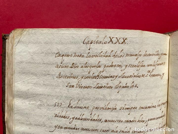 Libros antiguos: SIGLO XVIII - TESOROS ESCONDIDO, VIDA DE LOS PATRIARCAS JUDIOS - LIBRO MANUSCRITO - Foto 40 - 254344345